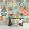 Tapete Fototapete Tapeten Kunst Mosaik Fliesen Ornament Bunte 13N3552P8