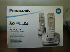 Panasonic 6.0 Plus Digital Cordless Answering / Phone - Brand New - KX-TG4022