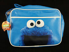 SESAME STREET Cookie Monster Messenger bag Cross body flight bag Fun gift New