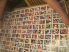 1988 TOPPS ~FOOTBALL~3 UNCUT SHEETS~28.5 x 43.5 TOTAL 396 CARDS~MINT~ROOKIE