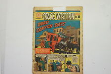 Crack Western comic book #1 published 1950