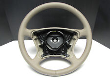 OEM Mercedes Benz New 'Take Off' Leather Steering Wheel TanBrownJava W215 W220