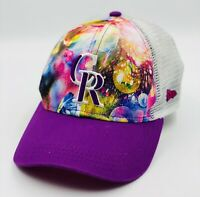 New Era 9Forty Girl's Colorado Rockies MLB Baseball Cap Hat Neon PINK Floral