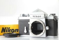 NEAR MINT+】 Nikon F Silver Eye Level DE-1 Finder 35mm SLR Film Camera Japan 1856