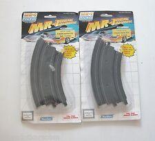 Marchon MR-1 Circuit Ho 7.2143 Paire de rails courbes 45° x 2 neufs sous blister