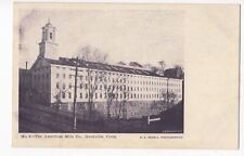 Vintage Postcard Rockville Connecticut American Mills Co UDB Early 1900's
