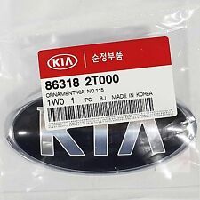 Genuine 863182T000 KIA Front Hood Emblem For OPTIMA 2011-2015  RIO5 2013- 2014