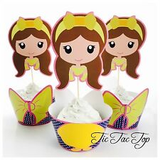 beauty and the beast cupcake topper eBay