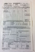 1998 THE GENERAL'S DAUGHTER original movie CALL SHEET