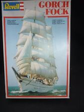 Revell un made plastic kit of GORCH FOCK,  parts sealed in bags