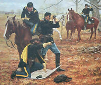 """The Staff Ride"" Don Stivers Civil War Commemorative Edition Giclee Print"
