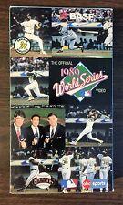 CHAMPIONS by the BAY - Giants vs. A's 1989 Bay Bridge World Series VHS G70615