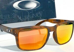 NEW* Oakley HOLBROOK Matte Brown Tortoise POLARIZED Galaxy Ruby Sunglass 9102