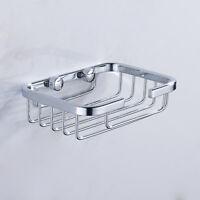 1~2x Seifenablage Wand Seifenschale Seifenhalter Badezimmer Waschraum Edelstahl