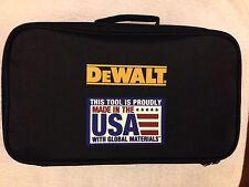 "New Dewalt Heavy Duty Black Ballistic Nylon Tool Bag 16"" Made In The USA"