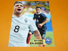 MATHIEU VALBUENA LYON OL FRANCE 2015 PANINI FAMILY FOOTBALL UEFA EURO 2016