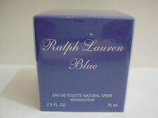 Ralph Lauren Blue women Eau de Toilette spray 75 mL (2.5 OZ) Sealed