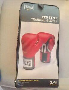 Everlast pro style training gloves 14oz