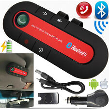 Bluetooth Wireless Speaker Car Phone Kit Hands Free For iPhone Samsung LG HTC UK