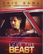 Eric Bana Signed Autographed 8x10 Love the Beast Photograph
