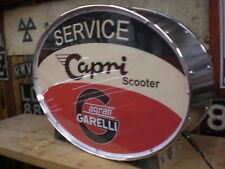 agrati,capri,garelli,scooter,old,lightup,sign,illuminated,display,mancave,garage