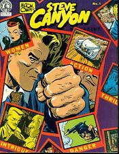 STEVE CANYON #1 by Milton Caniff (1983) Kitchen Sink Comics magazine FINE