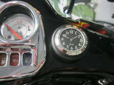 STICK-ON SEIKO CLOCK FOR SCOOTERS SATIN BLACK MOUNT