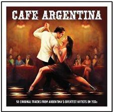 CAFE ARGENTINA - 3 CD BOX SET - VARIOUS ARTISTS