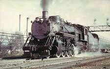 Chicago, Burlington & Quincy, Mikado #4960, freight --- Railroad Train Postcard