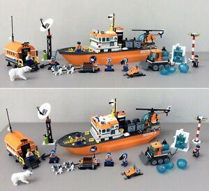 LEGO CITY - 60062 - Arctic Icebreacker - Arctic Brise-glace - SET