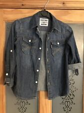 Boys Denim Shirt, Age 7-8 Years, Excellent Condition