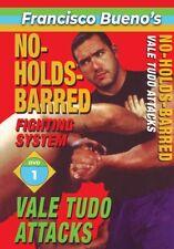 No Holds Barred #1 Vale Tudo Favorite Attack Techniques Dvd Francisco Bueno mma