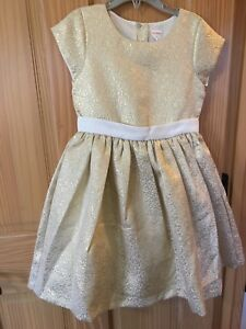 NWT Gymboree Gold Dress Holiday Christmas Girls Outlet 5,6,7,8,10,12