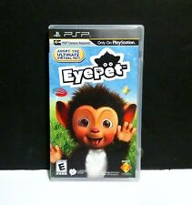 NEW Factory Sealed Virtual Eye Pet game for Sony PSP (Camera Sold Seperately)