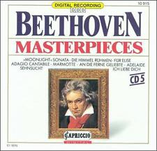 Beethoven Masterpieces  CD  This is One CD in a Series of 5
