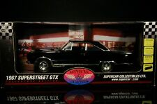 1/18 Highway 61 1967 Plymouth GTX SuperStreet SuperCar Collectibles Triple Black