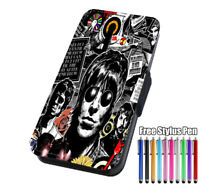 Oasis Band Flip Leather Phone Case Cover for iPhone 11 Samsung and Huawei