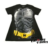 Batman The Dark Knight Rises Costume With Cape Adult T Shirt