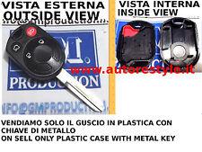 SOLAMENTE CUBIERTA MANDO PARA CONTROL REMOTO FORD MUSTANG 4 BOTONES ONLY CASO 4