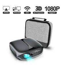 ELEPHAS Mini Portable Projector Wifi DLP HD Pico 3D Video Pocket Projector 1080p
