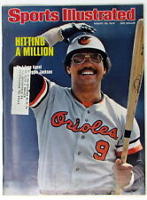 Sports Illustrated August 30, 1976  Reggie Jackson Hitting a Million