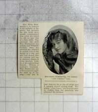 1904 Miss Hilda Hammerton Heroic Cosy Corner Girl Rescues Child
