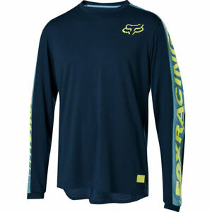 Fox Racing Ranger Dri-Release Fox Long Sleeve L/S Jersey Navy