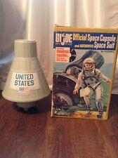 Vintage 1966 Hasbro GI Joe Official Space Capsule With Original HASBRO Box
