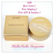 PETITFEE Gold Hydrogel Eye Mask (60Sheets)US-Seller + Free Gifts & Samples