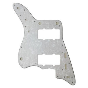 3-Ply Jazzmaster Pickguard for Fender American USA White Pearl