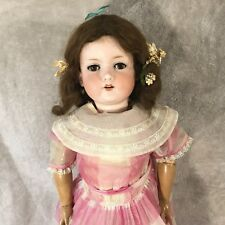 "29"" Antique Armand Marseille #390n A 12 M A12M Doll Sleepy Eyes Bisque Head"