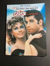 """Grease Is Still the Word"" 20th Anniversary Edition Songbook, Hal Leonard"