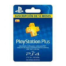 Tarjeta Sony PS Plus 365 Dias Pgk02-a0015643
