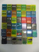 SONY PLAYSTATION MEMORY CARD THIRD-PARTY LOT OF 41 WHOLESALE AS-IS PS PS1